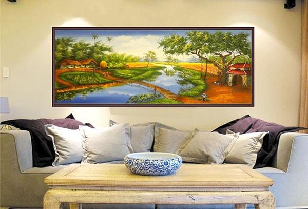 Làm thế nào để chọn tranh treo tường phòng khách đẹp là 1 nghệ thuật.