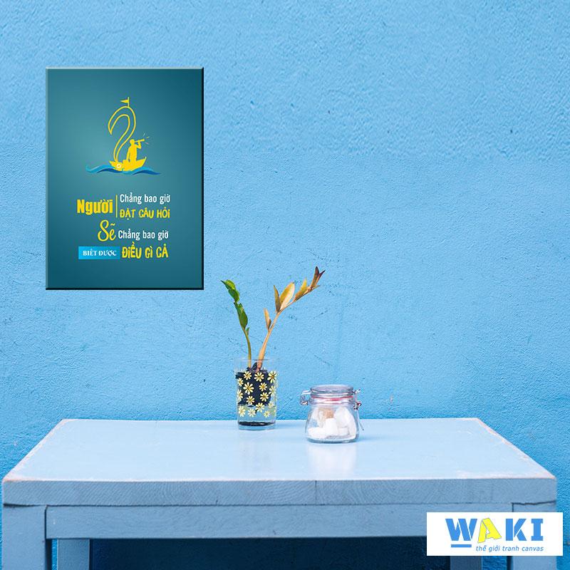 Tranh tạo động lực làm việc - W016