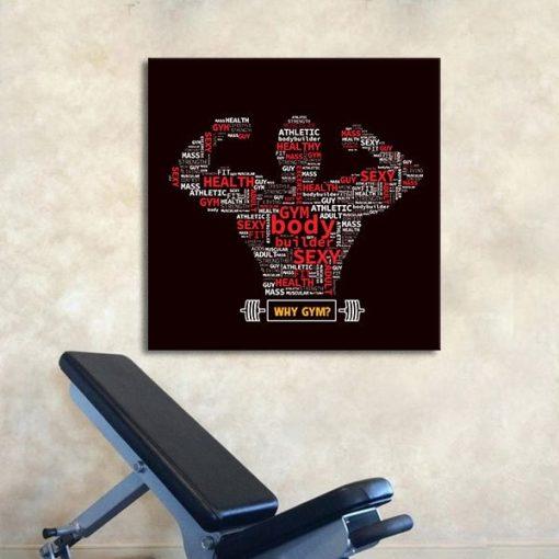 Tranh treo phòng thể hình (Gym)