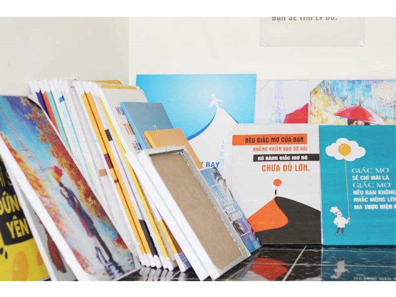 Dịch vụ in tranh theo yêu cầu – Tranh in trên Alumi (Kỹ thuật Alumium Print)