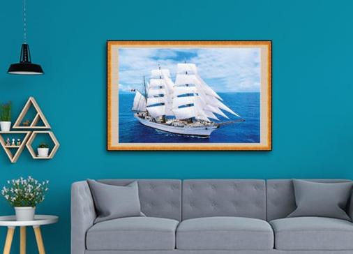 Tranh thuận buồm xuôi gió | Top tranh thuận buồm xuôi gió đẹp nhất