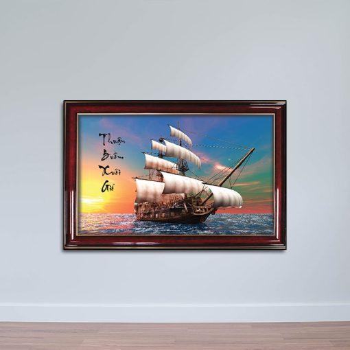 Tranh thuận buồm xuôi gió, tranh biển