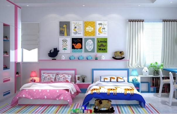 Tranh treo phòng ngủ trẻ em đẹp giá rẻ TPHCM | Tranh Waki [waki.vn]