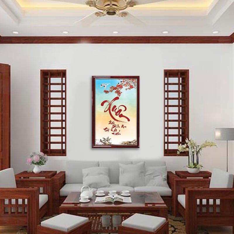 trang trí nội thất phòng khách, Trang trí nội thất phòng khách cho ngày Tết