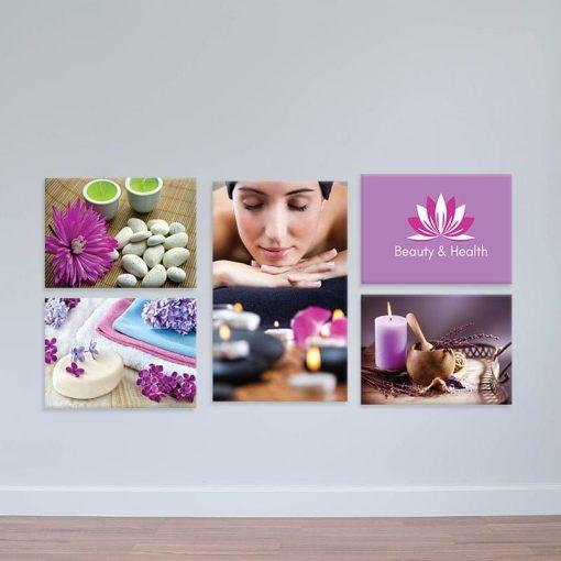 Tranh treo spa, massage