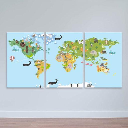 Tranh Bản đồ