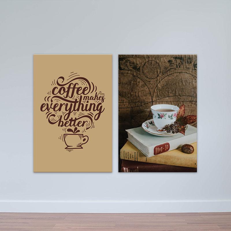Tranh treo quán cafe (cà phê)